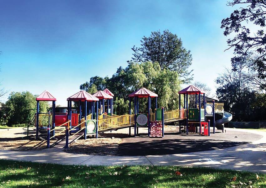 Harleston Park, Elsternwick