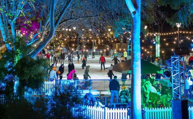 WINTER IN FED SQUARE – RIVER RINK