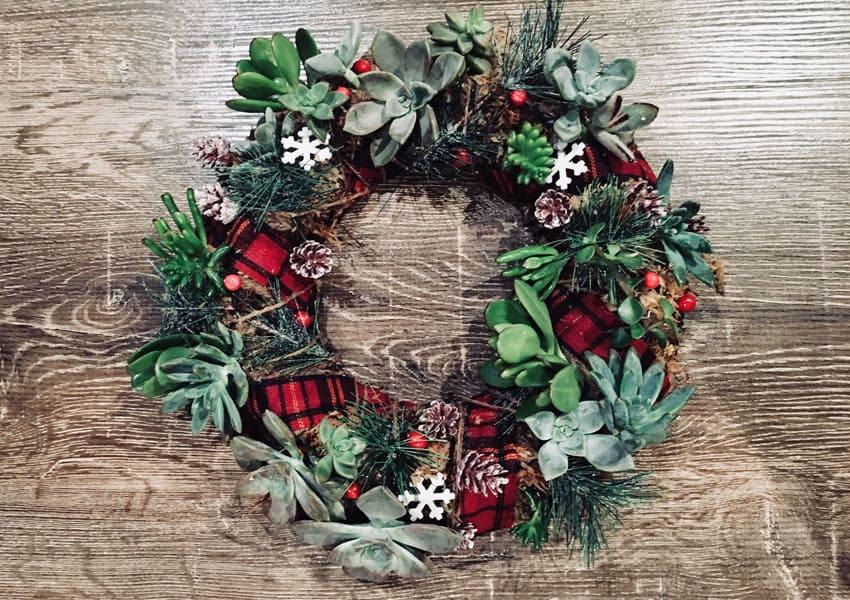 Christmas Wreath Making Mamamag